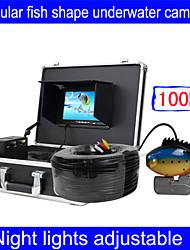 """trouveur de poissons caméra sous-marine Mytopia 100m poissons de pêche finder écran couleur LCD TFT de caméra sous-marine 7 """""""