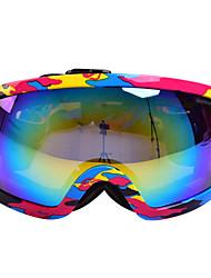 marsnow doble capa de gafas de esquí antiniebla contra polarizadas Snowboard esquí mujeres gafas hombres revo verdadera Esquí gafas M027