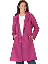 Polyester - Casual - Vrouwen - Trenchcoat - Lange mouw