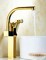 Total Copper Titanium Multifunction Face Basin Hot Cold Water Tap
