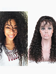 "10""-30""Brazilian Virgin Human Hair Wigs Blench knot Glueless Front Lace wigs/Full lace wigs Curly Wig"