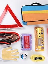 9pcs kit trousse d'urgence fois véhicule d'urgence de voiture les outils de maintenance de voiture kit accessoire