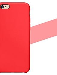 estojo de silicone suave para 6s iPhone 6 Plus