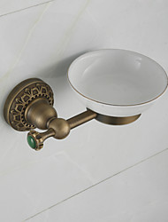 2016 Bathroom Soap Dish Holder Europe Antique Pure Copper Wall Mounted