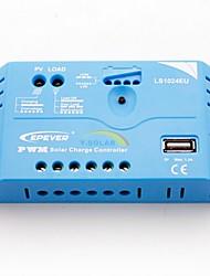 epsolar 10a PWM régulateur de charge solaire régulateur de batterie 12V / 24V automatique avec usb