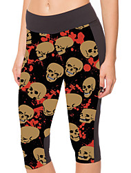Woman Skull Seven Points Of Tall Waist Panty Movement