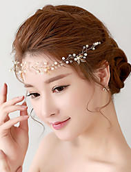 Korean Crystal / Alloy / Imitation Pearl / Plastic Headpiece - Wedding / Special Occasion Headbands