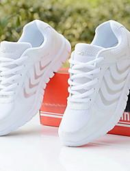 Scarpe Donna - Sneakers alla moda - Casual - Punta arrotondata - Piatto - Finta pelle - Blu / Rosa / Bianco / Grigio
