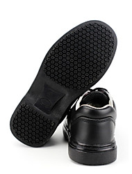 Men's Shoes Outdoor / Work & Duty / Casual Other Animal Skin / Leather Slip-on Black