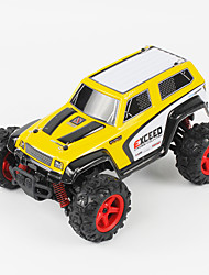 Buggy FQ777 9014 1:24 Brush Electric RC Car 45KM/H 2.4G Yellow / Red Ready-To-GoRemote Control Car / Remote Controller/Transmitter /