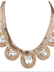 Missing U Cute / Party Alloy / Gemstone & Crystal Statement Necklace
