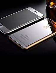 HD взрывозащищенный закаленного стекла металлизированный передний& задний протектор для Iphone 6S / 6