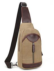 Men Canvas Shoulder Chest Bag