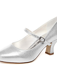 Low Heel Silver Wedding Shoes - Lightinthebox.com