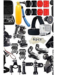 GoProアクセサリー取付方法 / glatte Rahmen / 保護ケース / 一脚 / 三脚 / ストラップ / バッグ / ねじ / Boje / Sog / アンチフォグインサート / 防水ハウジング / レンチ / 接着剤 / アクセサリー キット /