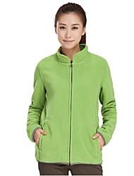 Women Outdoor Sports Collar Fleece Jacket Thickening Jacket Keep Warm  Breathable UV Resistancet Sports Jacke