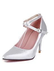 Chaussures Femme-Décontracté / Soirée & Evénement-Noir / Argent / Or-Talon Aiguille-Talons / Bout Pointu-Talons-Synthétique