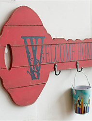 Do the Old Vintage Wood Key Hanging Hook with Ou Meifeng New Nostalgia