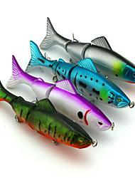 """4pcs pcs Isco Duro Cores Aleatórias 17.7g g/5/8 Onça,125mm mm/4-3/4"""" polegada,Plástico Pesca de Isco"""
