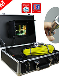 Pipe Inspection System   Pipe Inspection Camera  Drain Pipe Wall Inspection System Underwater Monitor with DVR feature