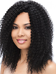 Brazilian Human Hair Wigs Lace Front Wigs afro kinky curly wigs for Black Women