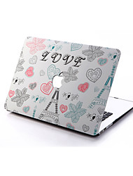 LOVE Style PC Materials Hollow Out Hard Cover Case For MacBook