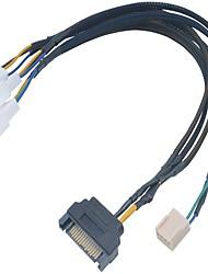 akasa flexa fp3s supporte 3 ventilateurs pwm à partir d'un en-tête de pwm carte mère unique
