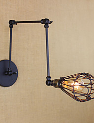 AC 100-240 40W E26/E27 Campestre Electrochapado Característica for Bombilla Incluida,Luz Ambiente Lámpara con brazo flexible Luz de pared
