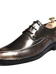 Men's Soft Bling Bing Genuine Leather Dress Shoes for Party/Office/Wedding Man's Leather Shoes