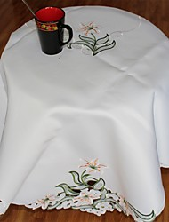 Multi-Purpose  Tablecloth With Size 148x225cm/55X85INCH  More Embroidery And Cutting Flower By Hand