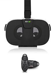 """FIIT vr gafas de realidad virtual en 3D de la cabeza del receptor de cabeza de montaje de vídeo del casco de 4,0-6,5 """"bluetooth del teléfono remoto"""
