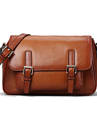 Paste® England Classic Leather Messenger Bag