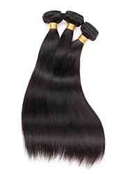 """1 PC / Los 12 """"-30"""" brasilianisches reines Haar gerade Menschenhaarverlängerungen 100% unverarbeitete brasilianische remy Haar spinnt"""