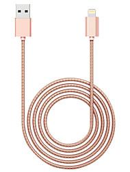 OPSO sc07apple mfi certifié 1m câble USB pour iPhone 7 6s 6 plus 5s 5c 5, câble se chargeur de données d'ipad