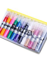 12шт 3d ногтей краска пера