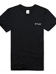 Men Sport Casual Outdoor Quick-drying Short Sleeve Tshirt Climbing Hiking Wading Fishing Running Shirt Clothing
