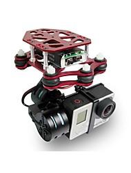 freex quadcopter 3000mah batería lipo con bl 2-eje rtf CNC cardán soporte caja de regalo de la cámara GoPro deporte Xiaomi