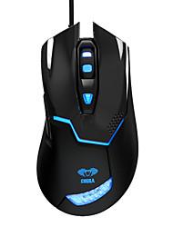 е-3LUE-622 EMS Cobra 3 уровня 2000 точек на дюйм синий индикатор Проводная оптическая игровых мышей