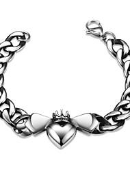 Bat Personality Retro Men's Stainless Steel Bracelet