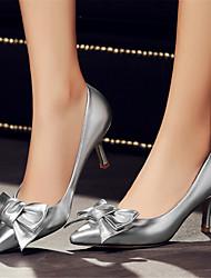 Women's ShoesStiletto Heel Pointed Toe / Closed Toe Heels Office & Career / Dress / Casual Green / Purple / Silver