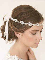 The high-end luxury double diamond bride hair band