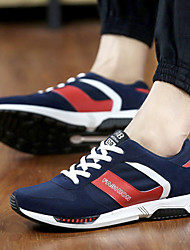 Men's Running Shoes Tulle Blue / Red / Gray