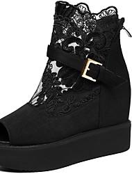 Zapatos de mujer - Plataforma - Punta Abierta / Creepers - Sandalias - Oficina y Trabajo / Casual / Fiesta y Noche / Vestido -Sintético /