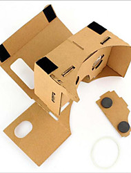 Cardboard VR Virtual Reality Glasses Storm Mirror DIY Kit