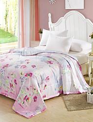 yuxin®tencel modal verão colcha de ar condicionado quilt impressão reativa verão colcha legal jogo de cama