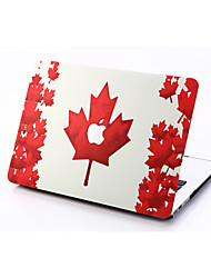 Maple-leaf Style PC Materials Hollow Out Hard Cover Case For MacBook