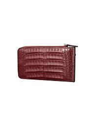 SL Men Wallet Vintage Genuine Crocodile Leather and Cowhide Unique Design Briefcase Business Clutch Bag Card Holder