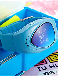 belle positionnement d'appel montres intelligentes pour le gps enfants + wifi + lbs multimode positionnement (couleurs assorties)