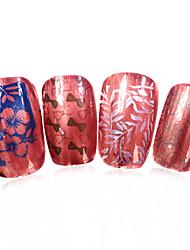 1pcs nieuwe 12x6cm image diy stamping platen nail art templates stencils voor polish xy-L29 (xy-l01-32)