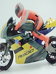 Motocicleta HY Model 1:5 Nitro RC Car Pronto a usar